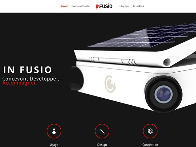 Nouveau site InFusio, sobre et élégant !