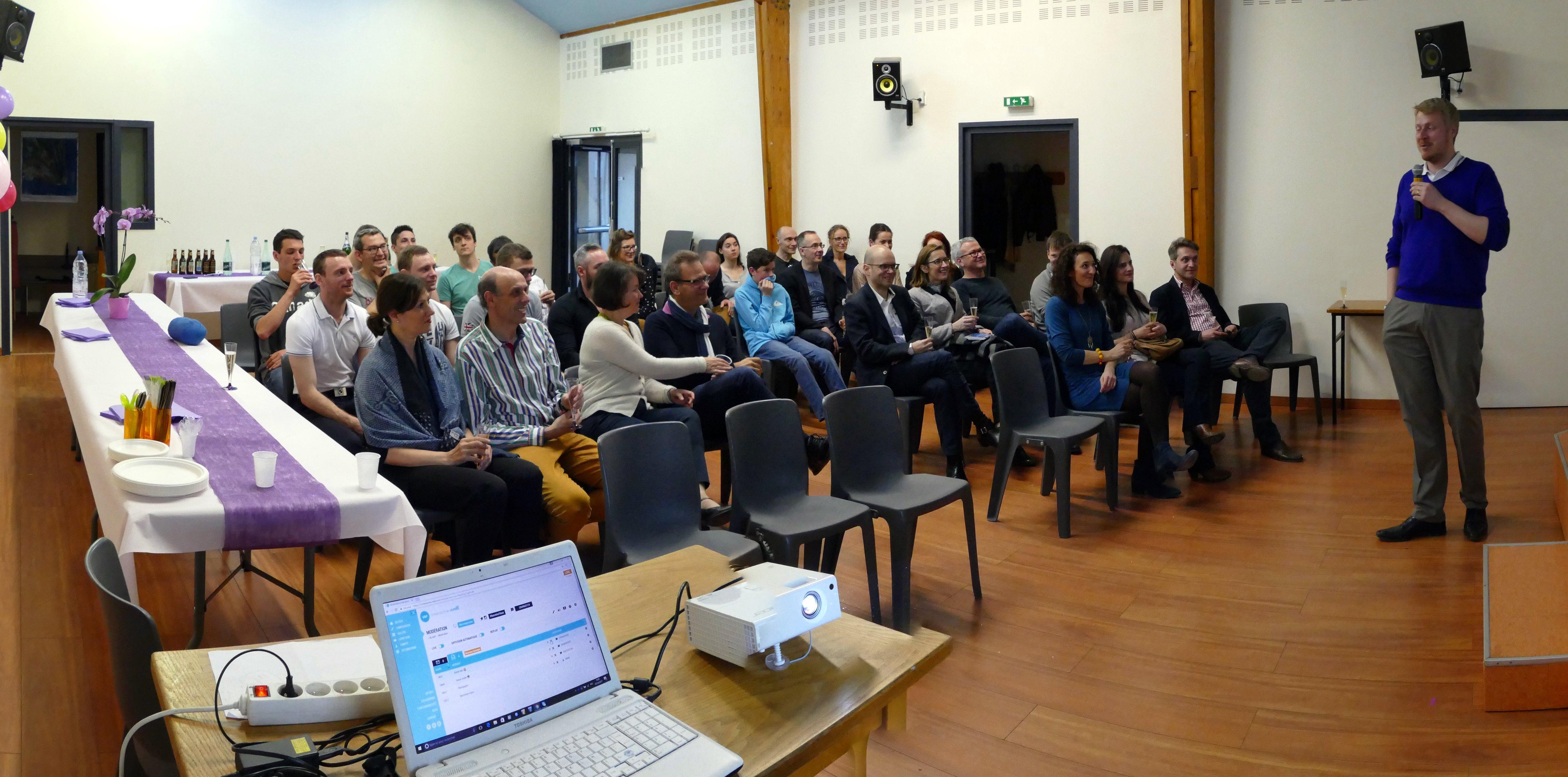 Associés et entreprises se retrouvent pour fêter les 10 ans de la Financière Florentine