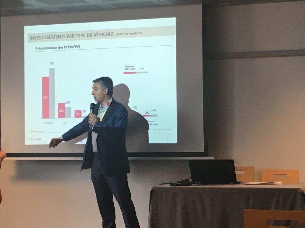Forum 5i 2017 : Sébastien Touvron (Kreaxi) présente le capital-innovation pour l'AFIC au