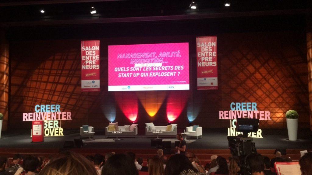Salon des Entrepreneurs 2017 : conférence Start-up Factory