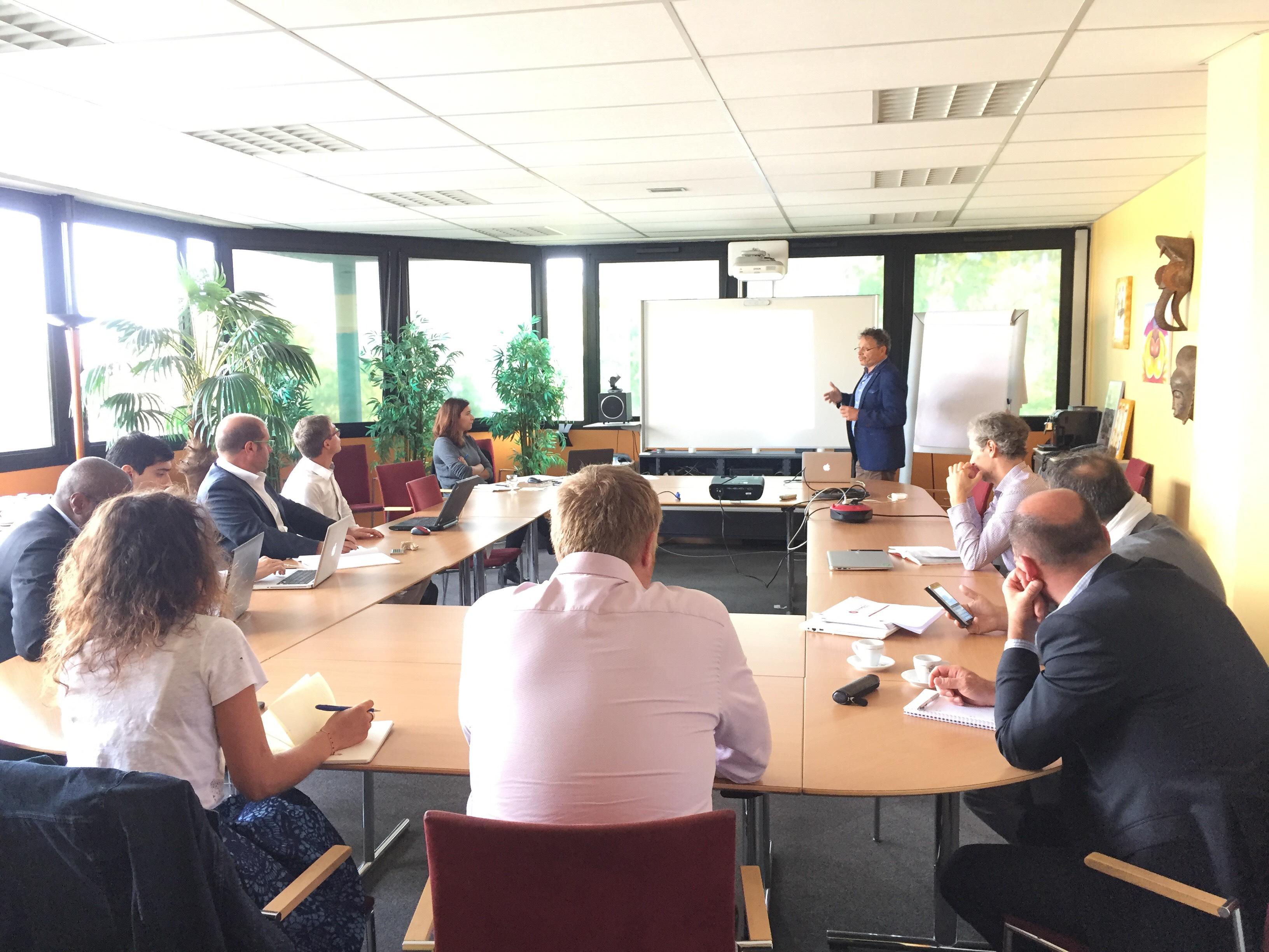 Ambition PME Pierre Frécon et Fanny Plagnol face aux entrepreneurs