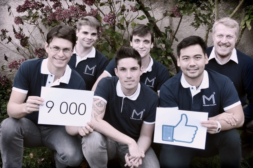 M2 atteint 9.000 Likes sur Facebook