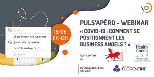 Covid-19 Business Angels : quelles premières (ré-)actions ?