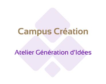 Campuse Création Atelier Génération Idées