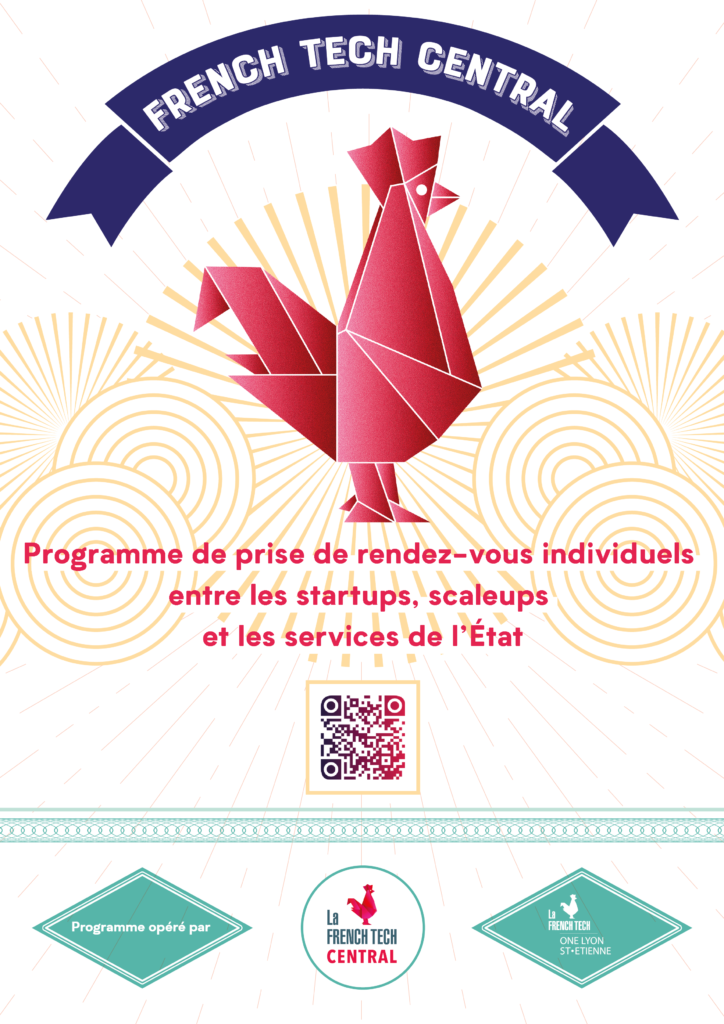 French Tech Central_Affiche_A4_qr_code