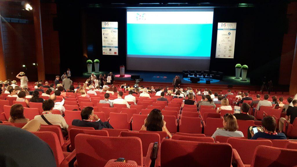 Digital Summr 2017, les participants prennent place à l'ouverture