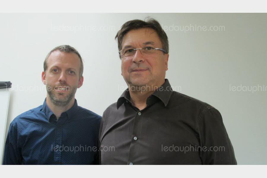 Le Dauphiné : Pascal Lecordier (Vertéole) et Bruno Berthommé (Ing'Europ) pour une énergie verte autoconsommée
